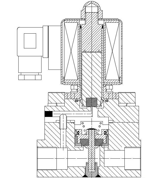 台鸣公司系列电磁阀适用于各种液体、气体等管路的自动控制;广泛应用于军工、航天、船舶重工、核工业、石化、电力、化学、轻工、机械、科研、工业窑炉、干燥设备、给排水、消防、食品医疗、清洗设备、喷泉、管道介质自动化控制等领域。是自动化控制工程、项目改造及设备配套的产品。  电磁阀工作原理: