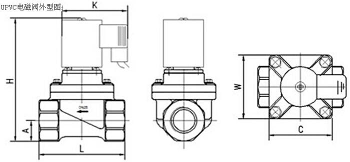 upvc常开电磁阀结构特点
